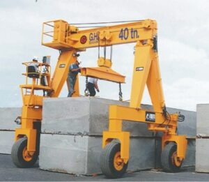 gantry crane - RTG industry