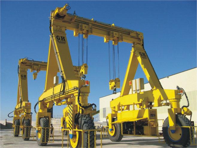 gantry crane - RTG industry