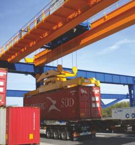 taylor - container handling crane