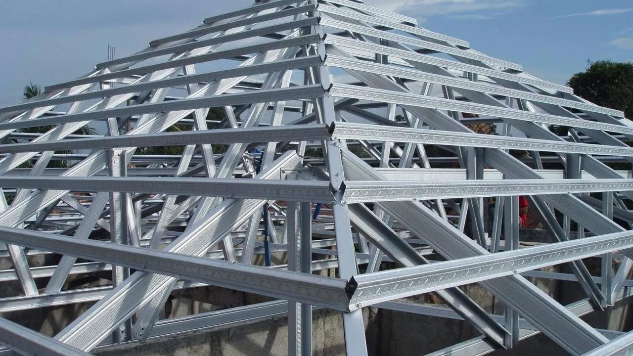 Rangka Baja Ringan Harga Ukuran Cara Pemasangan Cara pemasangan baja ringan taso